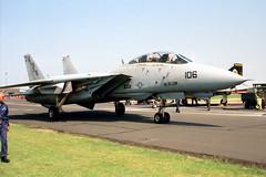 161435 (IanOlder) Tags: tomcat vf74 saratoga usn navy f14b f14 161435 mildenhall aa106 jet aircraft fighter bedevilers