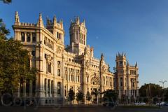 Cibiles Madrid IMG_0882-a (Tony.Woof) Tags: palacio de comunicaciones plaza la cibeles madrid