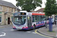 WX54XDG First Somerset and Avon 66724 (neiljennings51) Tags: bus psv pcv portishead somerset first avon volvo b7rle service x4