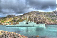 HMCS Athabaskan Narrows 2 (Ross A Craig) Tags: stjohnsnewfoundland canadian navy united states hmcs fredericton athabaskan signal hill