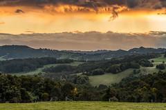 Highland Sunset (Robert Casboult) Tags: landscape landscapephotography longexposure landscapelovers sunset clouds highlands rural goldenhour canoneos6d canon70200f4lens farmland field mountains australia outdoors