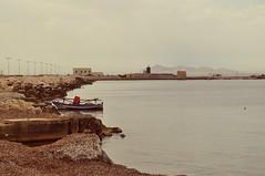Safe Harbor (StellaDeLMattino) Tags: boat trapani sicilia sicily italy italia south southern sud view sea calm silence trinacria nikon d5000 mare barca outdoor estate summer