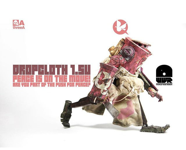 threeA - WWR 系列 Dropcloth 1.5U - Peaceday