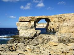 Azure window (genchi71) Tags: travel sea vacation panorama holiday seascape window rock landscape mare arch azure malta finestra roccia viaggi arco vacanze gozo azzurra azurewindow