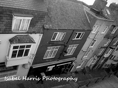 Up on The Roof .. (Isabel Harris) Tags: mono rooftops yorkshire scarborough bellaclicks isabelharris mygearandme