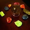 Gemstones (spreveda) Tags: agate quartz gems calcite crystalball smokeyquartz