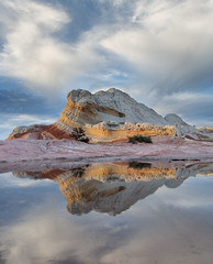 White Pocket Reflection (snowpeak) Tags: reflection vermilioncliffsnationalmonument whitepocket nikond800e