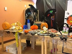 hallo table 3 (Points West Living) Tags: halloween fun good evil enjoy lloydminster spidermen