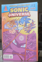 Sonic Universe #13: comic book review (ViewsForMe) Tags: ian monkey book spider other funny iron comic princess ninja review tracy sonic east sally adventure entertainment acorn journey sega archie khan he gossamer universe 13 clan tails flynn dominion yardley the