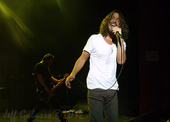 Soundgarden's Chris Cornell wails at Shepherd's Bush Empire 9 November (Mister J Photography) Tags: england london concert live empire shepherdsbush 2012 soundgarden chriscornell mattcameron 9november benshepherd kimthayil lastfm:event=3416385
