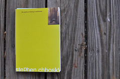 [  315/366  ] (AmandaWil) Tags: reading book leisure theperksofbeingawallflower stephenchbosky