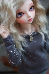 Stars in Your Eyes (CorpseDollyxx) Tags: eyes purple marcy bjd fairyland balljointeddoll mnf marceline leeke minifee ryeon pommai