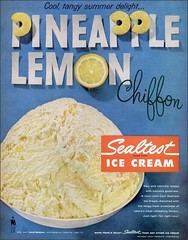 1959 Pineapple Lemon Sealtest Ice cream (1950sUnlimited) Tags: food design desserts icecream 1950s packaging snacks 1960s dairy midcentury snackfood sealtest