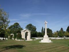 War Cemetery at Tilly-sur-Seulles (ralph&dot) Tags: france normandy caen 2012