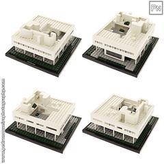 Villa Savoye (Pedro Nogueira Photography) Tags: architecture 1931 toys miniature arquitectura lego bricks landmark corbusier brinquedos villasavoye miniaturas pedronogueira pedronogueiraphotography