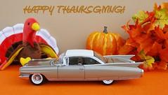 1960 Cadillac Eldorado Seville Hardtop (JCarnutz) Tags: thanksgiving seville cadillac eldorado 1960 diecast 124scale danburymint