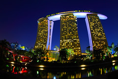 Marina Bay Sands - Integrated Resort - Singapore (Sharky's) Tags: park city nightphotography light sky panorama reflection nature colors gardens skyline architecture night marina canon garden landscape asian eos flyer singapore asia flickr downtown cityscape nightshot officebuilding dragons landmark s nightlight estrellas singapour spotted nightscene exquisite dslr dd iconic hdr asean attraction nn nightpicture singapura clarkequay singaporeriver gardencity sharkys skypark highrisebuilding lighttrail marinabay integratedresort icapture inyoureyes nicesunset helixbridge singaporecbd npark singaporeflyer flickraward flickrdiamond eliteimages merlions flickrestrellas llovemypics mirrorser marinabaysandscasino dragonsdanger mbssingapore flickrtravelaward attractionsingapore gardenbythebay singaporeleisure
