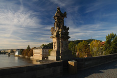 Prague - Charles Bridge (bautisterias) Tags: czech prague prag praha praga tschechien tschechischerepublik czechrepublic bohemia bohemian easterneurope rpubliquetchque  centraleurope  repblicacheca bhmen  echy esko eskrepublika