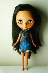 Makani got a new dress