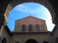 The Euphrasian Basilica in Porec (Sokleine) Tags: church basilica religion croatia unesco église unescoworldheritage byzantine porec istria croatie istrien culte euphrasianbasilica