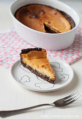 Two chocolate cheesecake with muesli (Photoeffect) Tags: food sweet chocolate cook cheesecake muesli