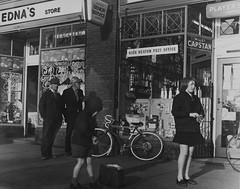 Tor093, Newton Road, High Heaton, Newcastle upon Tyne (Newcastle Libraries) Tags: england people newcastle 60s suburban north social tyne historic wear east 70s 1960s 1970s seventies sixties laszlo torday surburbs