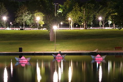 River Torrens 'Paper' Boats by Night (s.haydon) Tags: longexposure le adelaide southaustralia waterreflections paperboats rivertorrens shaunkirby talkingourwayhome