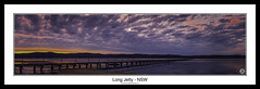 Long Jetty - NSW (John_Armytage) Tags: sunset panorama seascape clouds zeiss reflections dusk pano jetty panoramic nsw canon5d focusgroup longjetty centralcoastnsw novaflex johnarmytage wwwjohnarmytagephotographycom carlzeiss50ml14