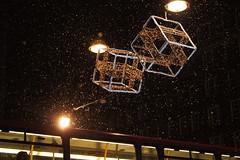 Winter - Snow in London (Alexander Ahlmann) Tags: christmas street winter amazing oxford finally amature