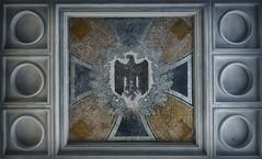 Nazi Eagle (Rez*) Tags: abandoned eagle swastika third derelict reich kasern