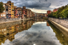 Girona moment (JoLoLog) Tags: reflection spain girona hdr oldcity oldworld lorien canonxsi mygearandme mygearandmepremium mygearandmebronze