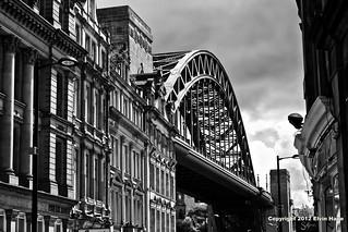 Newcastle / Tyne Bridge / England / UK