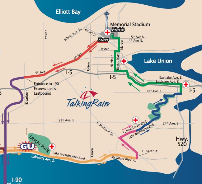 Seattle Marathon tomorrow – Lake Washington Blvd closed | Central ...