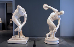 Myron, Discobolus (two)