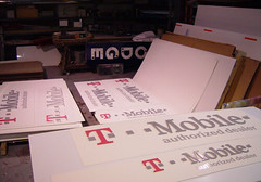Completed Signs Ready for Installation