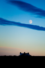 Twilight Hour (juliereynoldsphotography) Tags: sunset sky moon silhouette clouds twilight juliereynolds