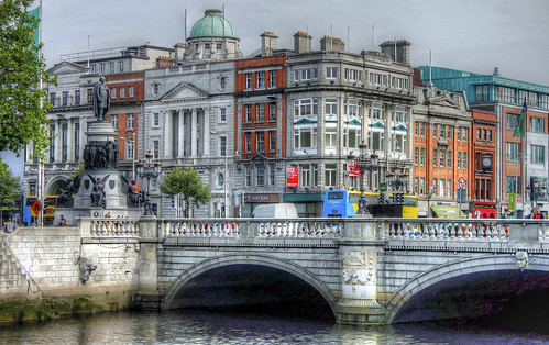 O'Connell Bridge by psyberartist, on Flickr