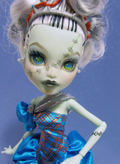 Threaderella (nonaptime) Tags: monster robot high doll ooak steam frankie captain penny custom stein recolor repaint robecca threaderella