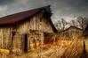 Abandoned Barn (John_Kent) Tags: ruraldecay photomix photomatix rusticbarn ruralscenery johnkent singleexposurehdr tennesseebarn