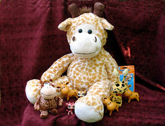 Giganticus (dog.happy.art) Tags: toy toys stuffed collection giraffes giraffe collectables collectibles collecting