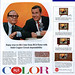 Jack BENNY & Johnny CARSON on The Tonight Show - RCA Victor COLOR TV Ad, 1965