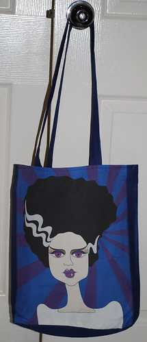 Tote bag - the bride of Frankenstein