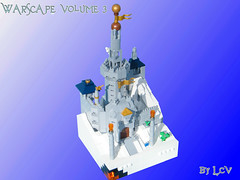 WarScape: Vol 3; Chapter 4 of 5: A Ray of Sunlight in the Dark of Night (LukeClarenceVan) Tags: castle landscape lego micro snowscape microscale warscape microcastle