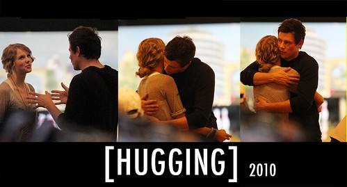 Taylor Swift Cory Monteith Hugging Back In 2010 A Photo On Flickriver