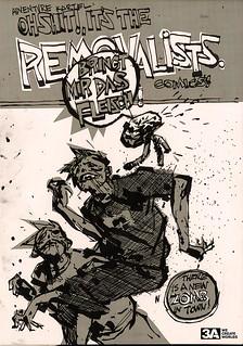 threeA - Adventure Kartel 系列 The Removalists 黑白殭屍雙人包