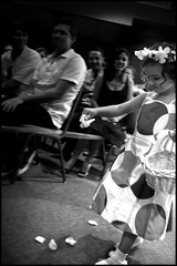 Becky's Flower Girl (greenthumb_38) Tags: wedding blackandwhite bw flower girl blackwhite petals petal polkadots duotone pedals flowergirl pedal polkadot jeffreybass