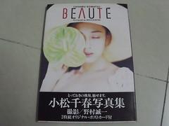 原裝絕版 1993年 11月10日 小松千春 CHIHARU KOMATSU BEAUTE 寫真集 初版 原價 2100YEN 中古品