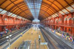 Estação de Trem da Luz (HDR) (De Santis) Tags: brazil luz brasil train nikon downtown metro sãopaulo centro sigma sp paulo 1020mm trem são hdr metrô estação julioprestes d5100 fernandodesantis