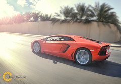 Lamborghini Aventador LP 700-4 (Tareq Abuhajjaj | Photography & Design) Tags: lamborghini aventador lp700 power v12 top speed panning tracking saudi arabia motion tareqdesign tareqphcom high fast auto car cars rim rims wheel wheels orqnge riyadh arab flickr 500px ride photography design       white tareq tareqmoon sport photo nikon nice moon black d700 abuhajjaj gear ksa red carbon 070 manual light lights fiber sky race bw big foilacar orange dark italia