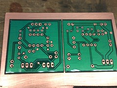 PCB Mask After Drilling